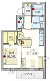 稲田堤駅 徒歩7分3階Fの間取り画像