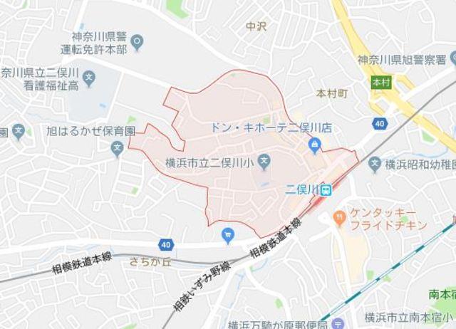 レジデンス二俣川第3案内図