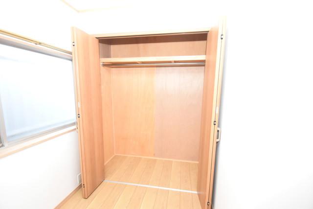 横沼町1-9-12 貸家 大容量のクローゼットは荷物が多い方も安心ですよ。