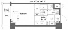 プラウドフラット横浜10階Fの間取り画像