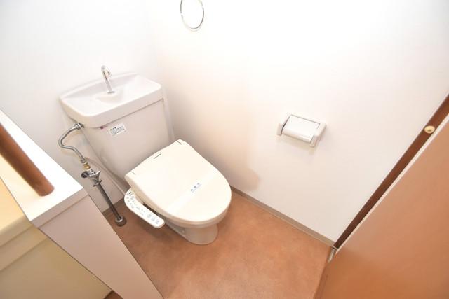ファーストアベニール 清潔感のある爽やかなトイレ。誰もがリラックスできる空間です。