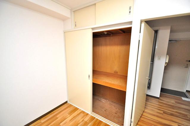 ロイヤル加美北 もちろん収納スペースも確保。お部屋がスッキリ片付きますね。