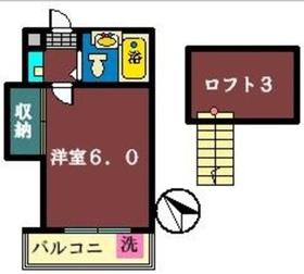 アルカディア新高根2階Fの間取り画像