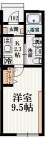 メゾン・ド・シャノワール1階Fの間取り画像