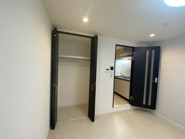 ステディ八戸の里 もちろん収納スペースも確保。おかげでお部屋の中がスッキリ。