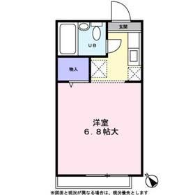 シャトー生田2階Fの間取り画像