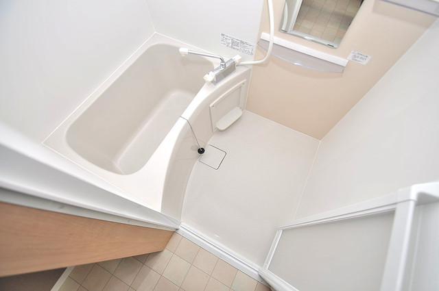 Realize長瀬 ゆったりサイズのお風呂は落ちつける癒しの空間です。