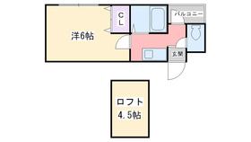 ウイング室見4階Fの間取り画像