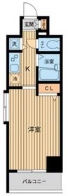 HF東神田レジデンス4階Fの間取り画像
