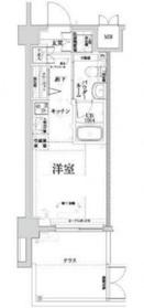クラリッサ横浜中央1階Fの間取り画像