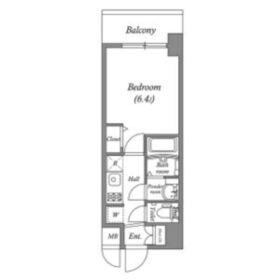 ララプレイス天王寺ルフレ9階Fの間取り画像