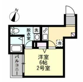 花月総持寺駅 徒歩14分2階Fの間取り画像