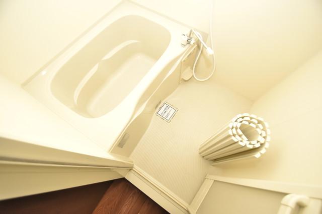 Blanc fleur(ブランフルール)B ちょうどいいサイズのお風呂です。お掃除も楽にできますよ。