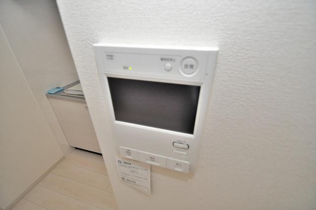HERITAGE高井田 TVモニターホンは必須ですね。扉は誰か確認してから開けて下さいね