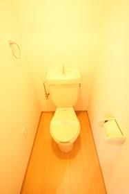 水洗トイレ!