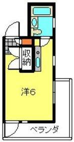 YTビル4階Fの間取り画像