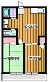 朝霞駅 徒歩32分2階Fの間取り画像