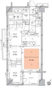 北千束駅 徒歩4分1階Fの間取り画像