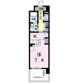 レギオン1階Fの間取り画像