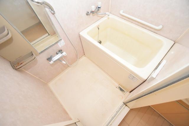 メゾン・ド・成屋大阪 ちょうどいいサイズのお風呂です。お掃除も楽にできますよ。