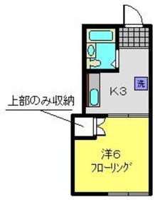 おれんじハウス壱番館1階Fの間取り画像
