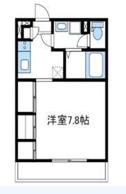 リブリ翔ハバタキ1階Fの間取り画像