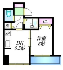 シュロス塚越3階Fの間取り画像