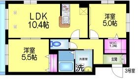 L'ECRIN レクラン3階Fの間取り画像