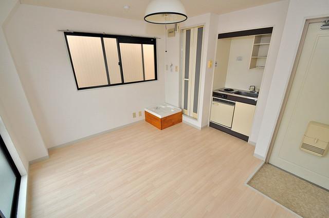コシベ八戸ノ里 外観との良いギャップが部屋の良さを引き立てています。