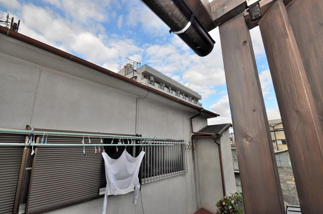 エフェクティブハウス布施 この見晴らしが日当たりのイイお部屋を作ってます。