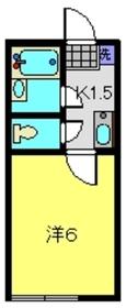 PAO 5A棟2階Fの間取り画像