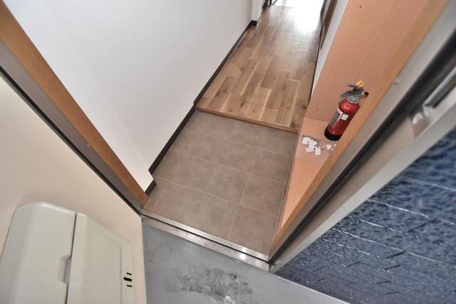 シティーコア高井田Ⅱ 素敵な玄関は毎朝あなたを元気に送りだしてくれますよ。