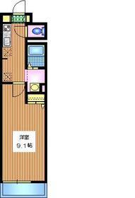 メゾン・ド・パトリ1階Fの間取り画像