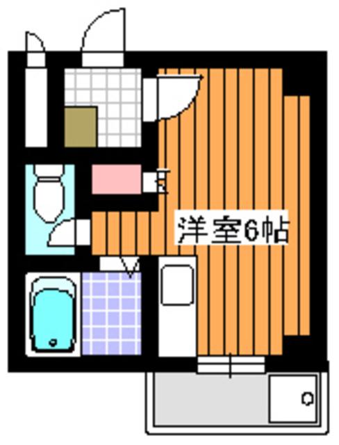 第8藤ホームビル間取図