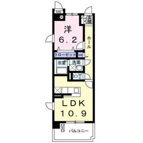 セレッソ3階Fの間取り画像