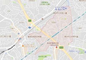 グレイスコート二俣川 弐番館案内図