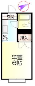 南平駅 徒歩3分1階Fの間取り画像