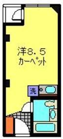 キコ横浜ビル6階Fの間取り画像