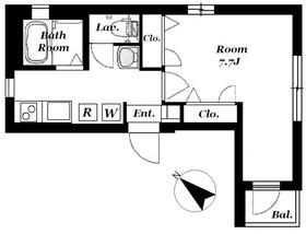 セントラル・ハイツ2階Fの間取り画像