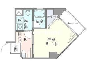 水道橋駅 徒歩7分4階Fの間取り画像
