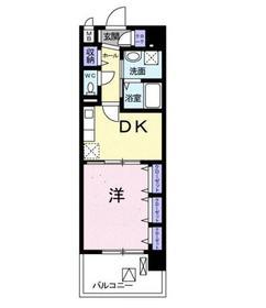 クラン モラ1階Fの間取り画像