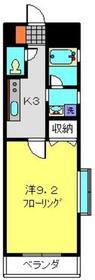 フラット福寿第112階Fの間取り画像
