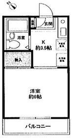 麻生ハイム2階Fの間取り画像