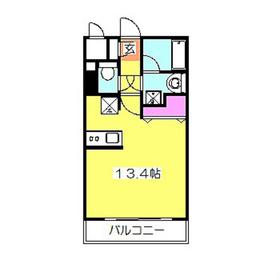 ヴィルヌーブ3階Fの間取り画像