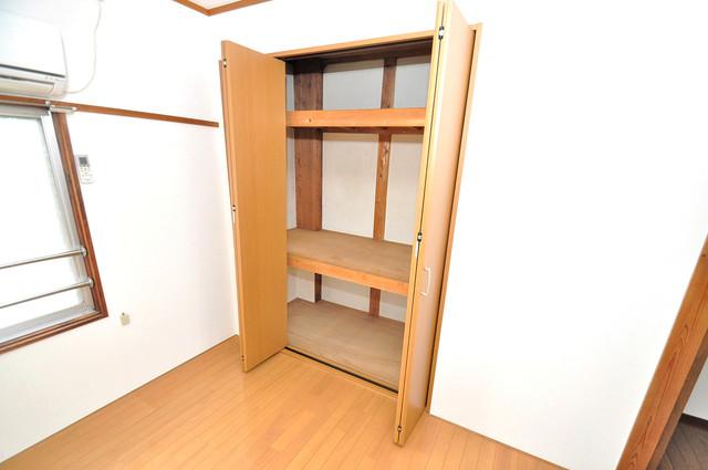 冨永コーポ もちろん収納スペースも確保。いたれりつくせりのお部屋です。
