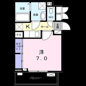 リバーセゾン北戸田2階Fの間取り画像
