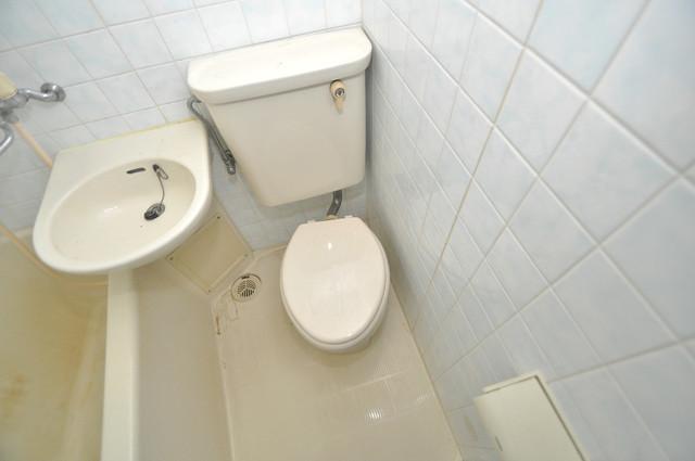 OMレジデンス八戸ノ里 お風呂・トイレが一緒なのでお部屋が広く使えますね。