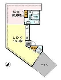 サンパパ下馬ハウス5階Fの間取り画像