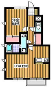 下赤塚駅 徒歩5分1階Fの間取り画像