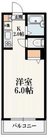 ハイネスタカヒロ2階Fの間取り画像